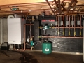 Viessmann Gas Fired boiler changeout 4 ft hdrm