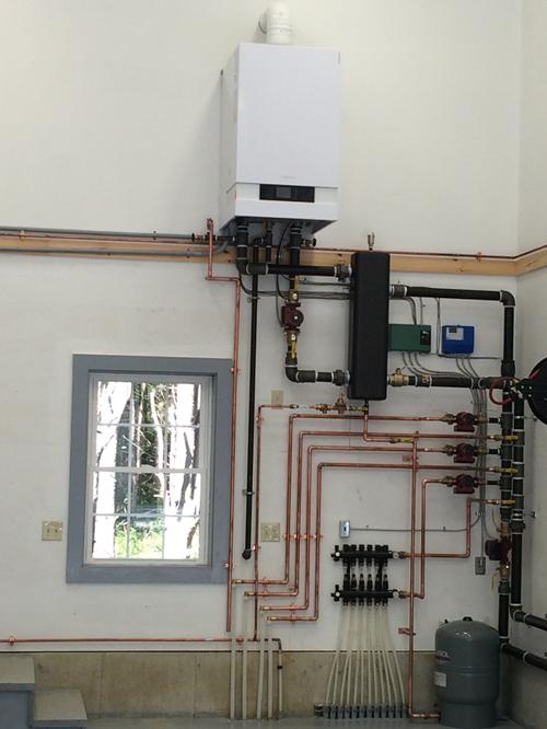 Viessmann gas boiler